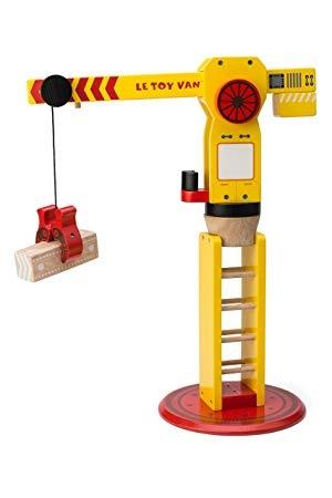 Le Toy Van Grande Grue en Bois de Toy Van