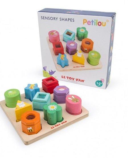 Jeu Éveil des Sens Petilou de Le Toy Van - Sensory Shapes