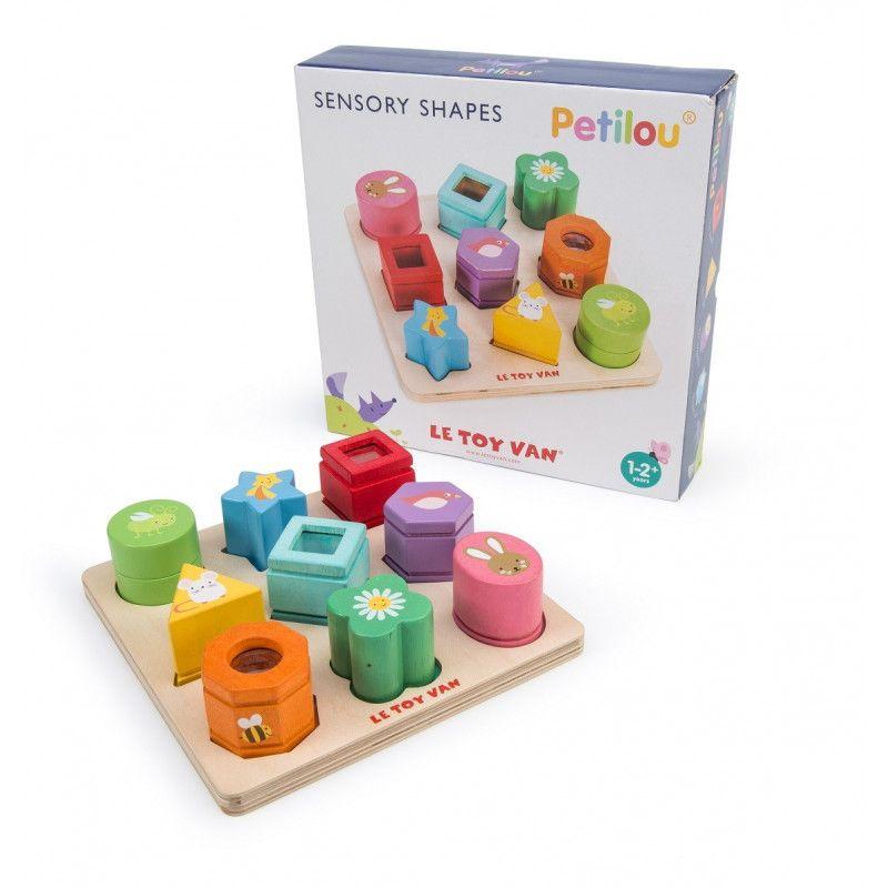 Le Toy Van Jeu Éveil des Sens Petilou de Le Toy Van - Sensory Shapes