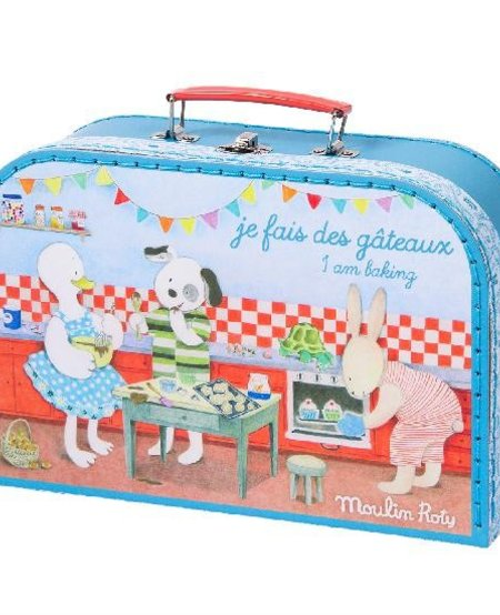 Valise Patisserie Grande Famille, Moulin Roty