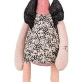 Moulin Roty Peluche Flamand Rose Violette de Moulin Roty