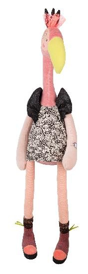 Moulin Roty Peluche Flamand Rose Violette