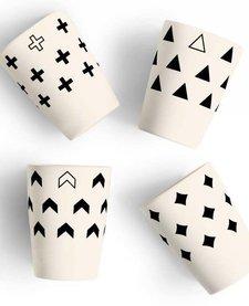 Gobelets en Bambou Scandinave de Young Lux