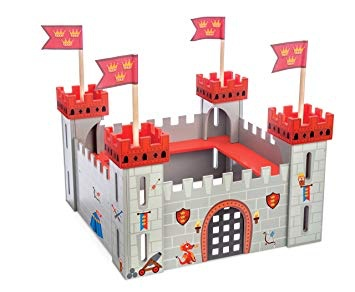 Le Toy Van Mon Premier Château Rouge