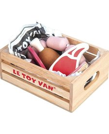 Panier de Viande du Marché de Toy Van/ Market Meat Crate