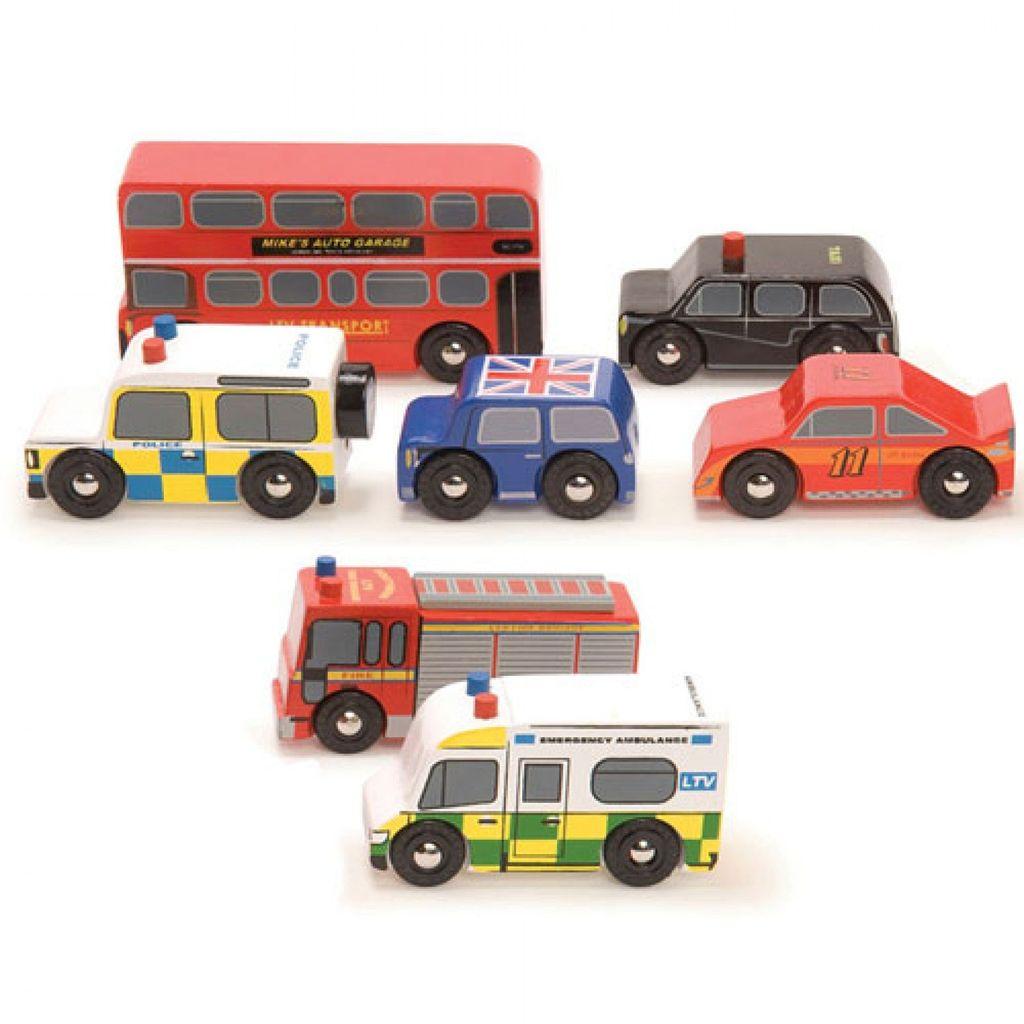 Le Toy Van Ensemble de Voitures Londoniennes