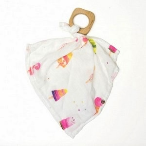 Loulou Lollipop Doudou Lovey Sorbet en Bambou de Loulou Lollipop/ Blanket
