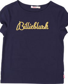 SS19 T-Shirt Logo Billieblush Doré - Billieblush
