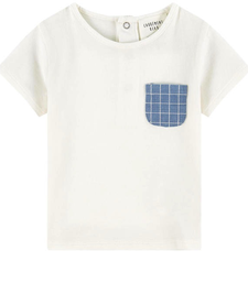 SS19 T-Shirt à Pochette en Denim - Carrément beau