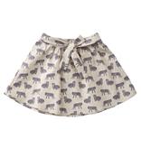 Cokluch SS19 Jupe beige petit tigre -  Skirt Cokluch