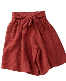 SS19 Jupe culotte auburn avec noeud -  Skirt Cokluch