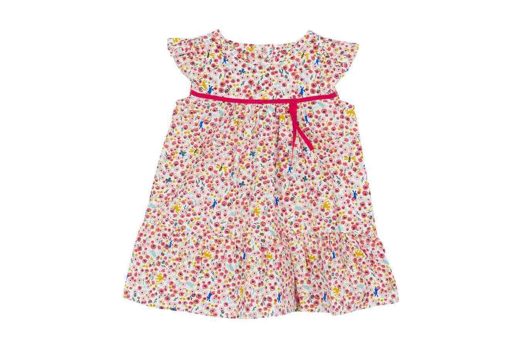 Petit Bateau SS19 Robe Fleurie  - Petit Bateau Dress