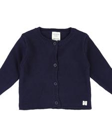 SS19 Cardigan Tricot Bleu Foncé - Carrément beau