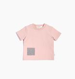 Miles Baby SS19 T-Shirt Tricot Rose À Pochette de Miles Baby
