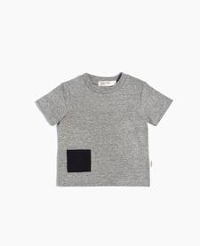 SS19 T-Shirt Tricot Unisexe À Pochette de Miles Baby
