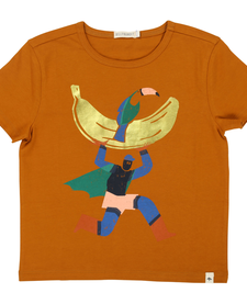 SS19- Chandail brun cérémonie/Tee-Shirt
