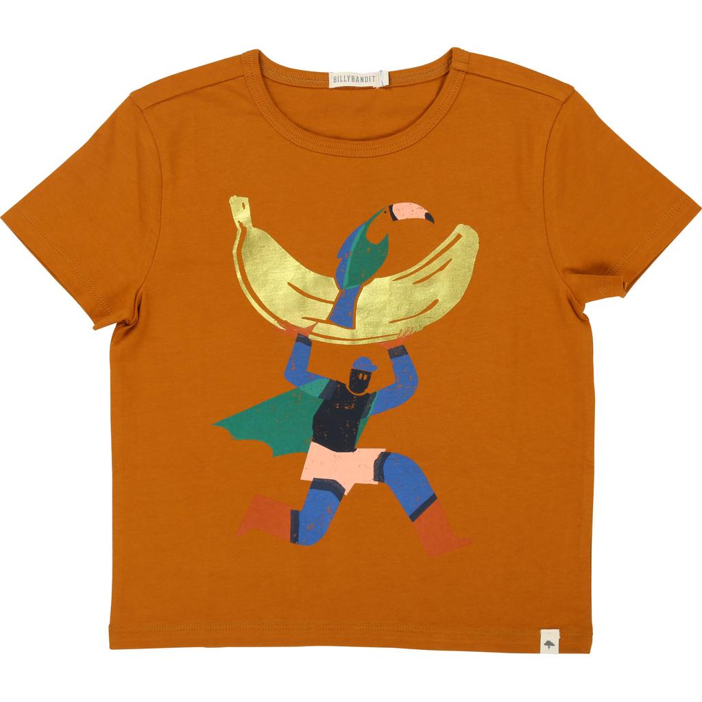 Billy Bandit SS19- Chandail brun cérémonie/Tee-Shirt