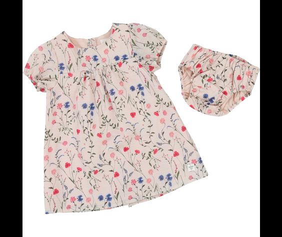 Carrément Beau SS19 Robe avec Culotte Fleurie - Carrément beau