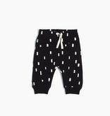Miles Baby SS19 Pantalon en Tricot Noir Bloc de Jeu de Miles Baby - Back Play Blocks Jogger