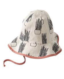 SS19 chapeau d'été beige et cactus -  Cokluch