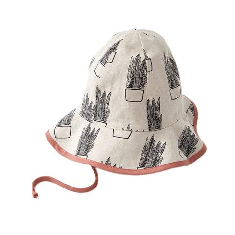 Cokluch SS19 chapeau d'été beige et cactus -  Cokluch