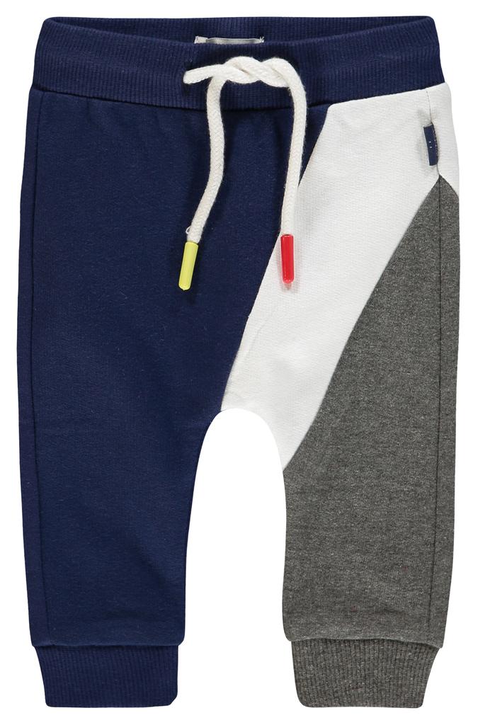 Noppies SS19 Pantalon confort bleu blanc gris de Noppies - Pants