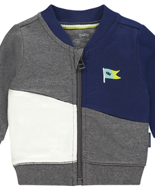 SS19 Chandail bleu blanc et gris de Noppies - sweatshirt