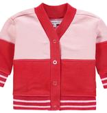 Noppies SS19 - Cardigan rose et rouge de Noppies