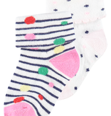 Noppies SS19 Paquet de 2 Paires de Bas Noppies rose/ Socks