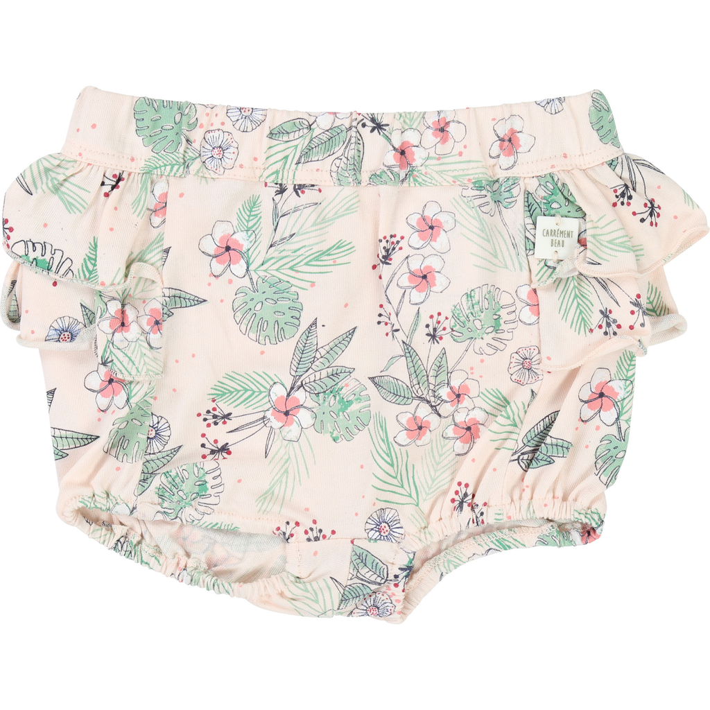 Carrément Beau SS19 short culotte  fleuri- Carrément beau