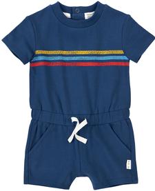 SS19 Combinaison Bleue à Rayures de Miles Baby