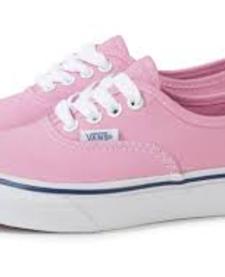 SS19 Souliers TD authentic Elastic Pink/True White Vans