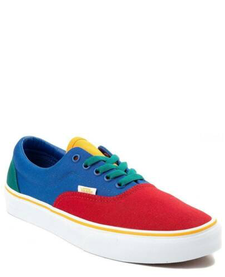 SS19 Souliers Era Primary Block/Red Blue Vans
