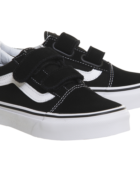 SS19 Old School Black Vans