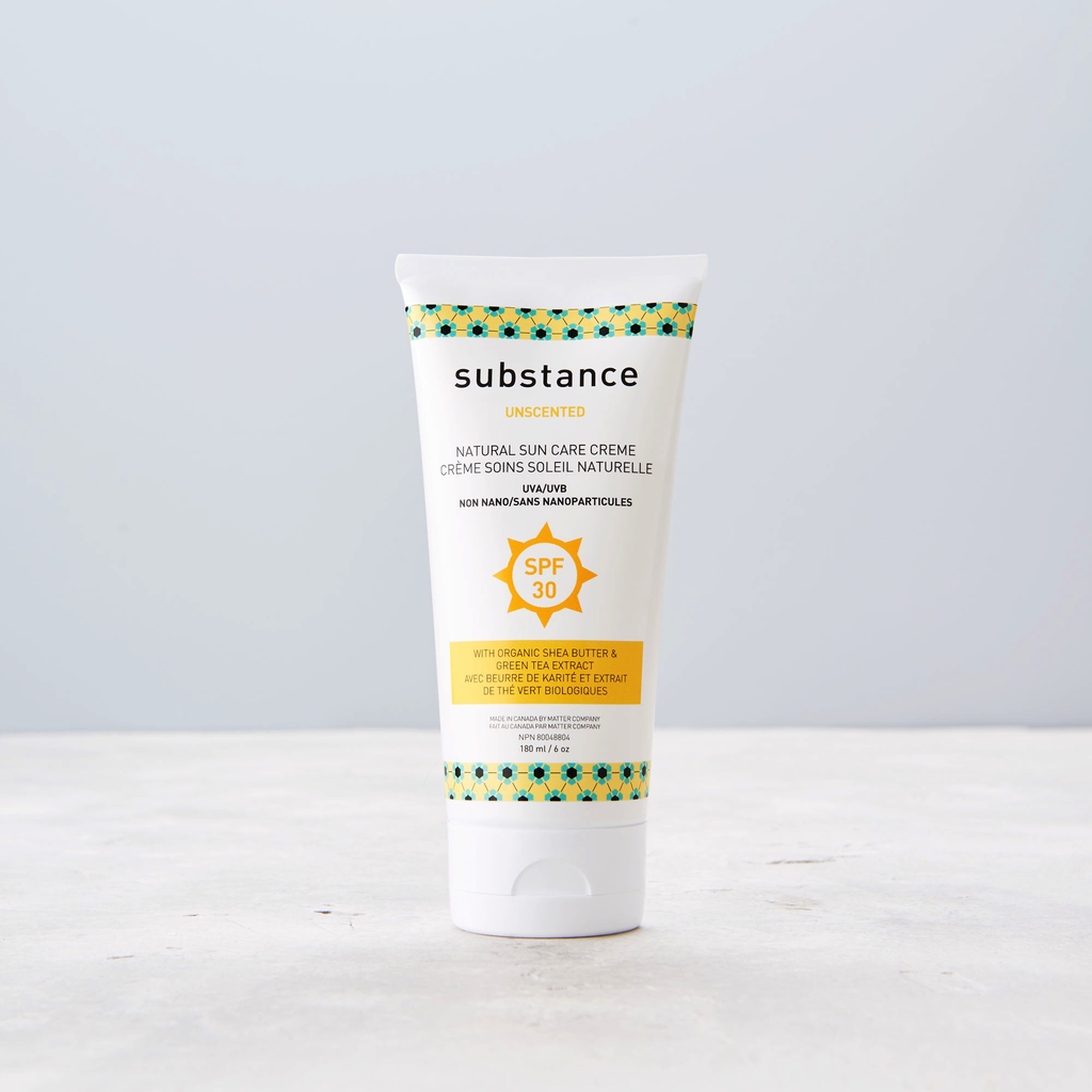 Substance Crème Solaire SPF 30 au Calendula et Beurre de Karité Bio de Substance 180ml