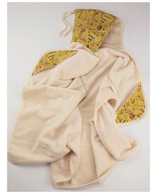 Serviette Poncho à capuchon Évolutive Biologique-Petit Elfe Oko créations