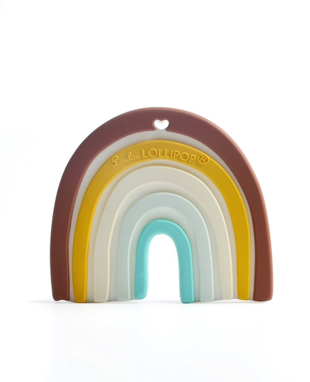 Jouet de Dentition Arc En Ciel de Loulou Lollipop/ Rainbow Teether