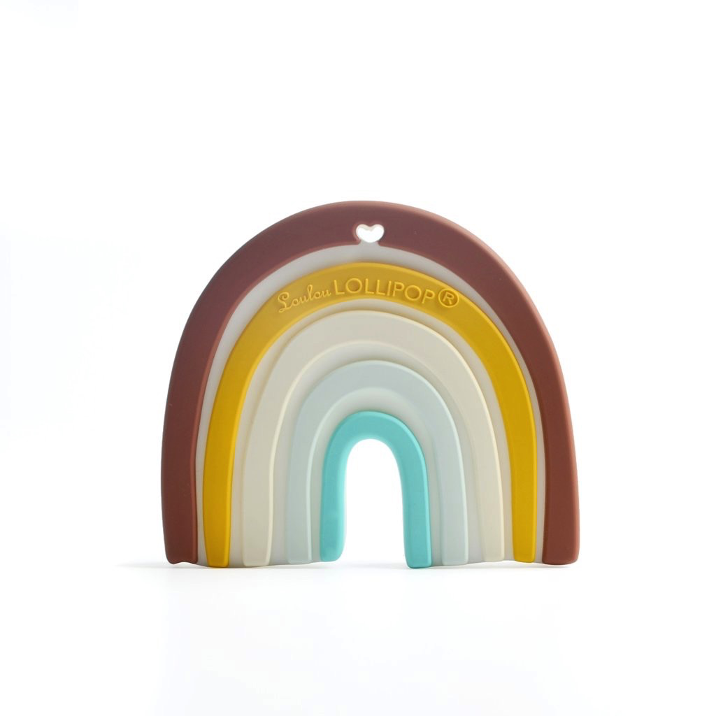 Loulou Lollipop Jouet de Dentition Arc En Ciel de Loulou Lollipop/ Rainbow Teether