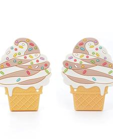Jouet de Dentition Glace de Loulou Lollipop/ Ice Cream Teether