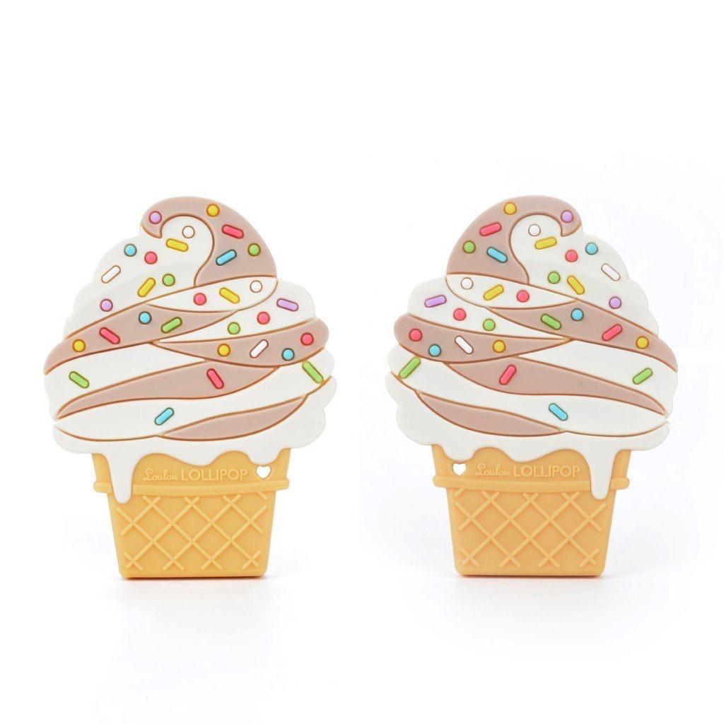 Loulou Lollipop Jouet de Dentition Glace de Loulou Lollipop/ Ice Cream Teether