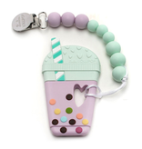 Loulou Lollipop Jouet de Dentition Attache Sucette Bubble Tea de Loulou Lollipop/ Bubble Tea Teether