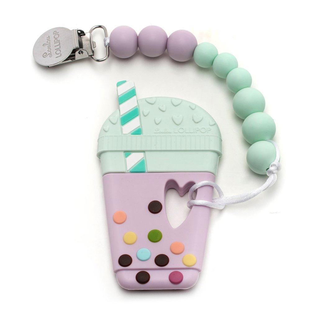 Loulou Lollipop Jouet de Dentition Attache Sucette Bubble Tea de Loulou Lollipop/ Bubble Tea Teether