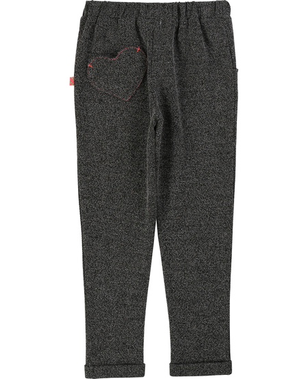FW19 Pantalon Confort Poche Coeur BillieBlush - Winter Casual Heart Pocket Pant