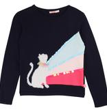 Billieblush FW19 Pull Chat Sequins BillieBlush - Winter Cat Sequin Sweater