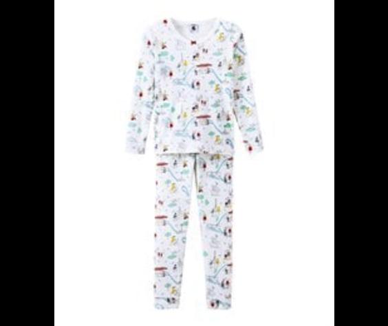Petit Bateau FW19 Pyjama SnugFit 2 Pièces / Petit Bateau