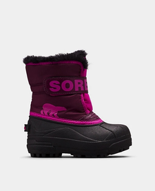 FW19 Bottes Snow Commander Rose/Violet Sorel - Winter Boots Groovy Pink