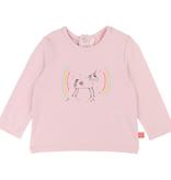 Billieblush FW19 Tshirt a Manches Longues Rose Licorne BillieBlush - Unicorn Pink Tshirt