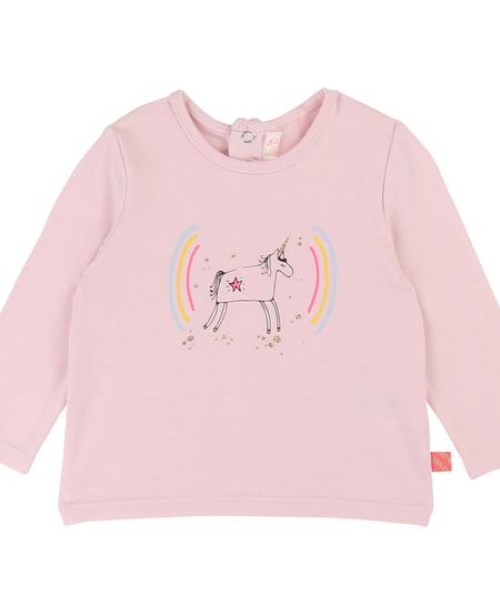 FW19 Tshirt a Manches Longues Rose Licorne BillieBlush - Unicorn Pink Tshirt