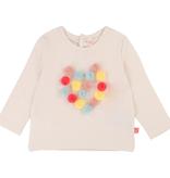 Billieblush FW19 Tshirt Pompons Colorés BillieBlush - Colorful Pompon Tshirt