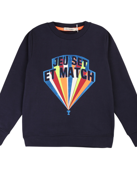 FW19 Pull Jeu Set et Match de Billybandit - Sweater